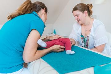 Osteopathie für Baby